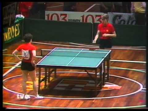 TENNIS TABLE  europa top 12 - barcelona 85 - 1985 -3