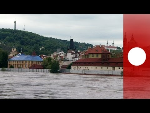 Prague's flood defences are put to the test