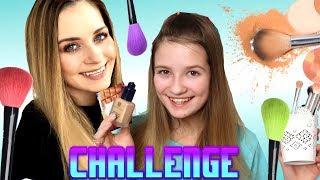 CHALLENGE - Makijaż kosmetykami mamy ❤ Cookie Mint