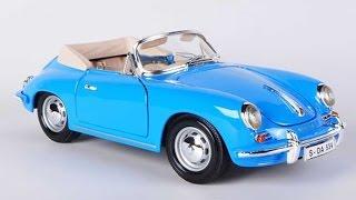 1961 Porsche 356b Convertible 1:18 Bburago