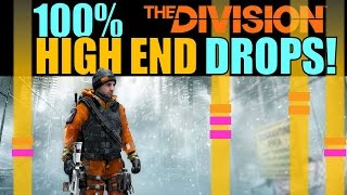 The Division: 100% HIGH END DROPS! | Patch 1.1 Loot System Changes!