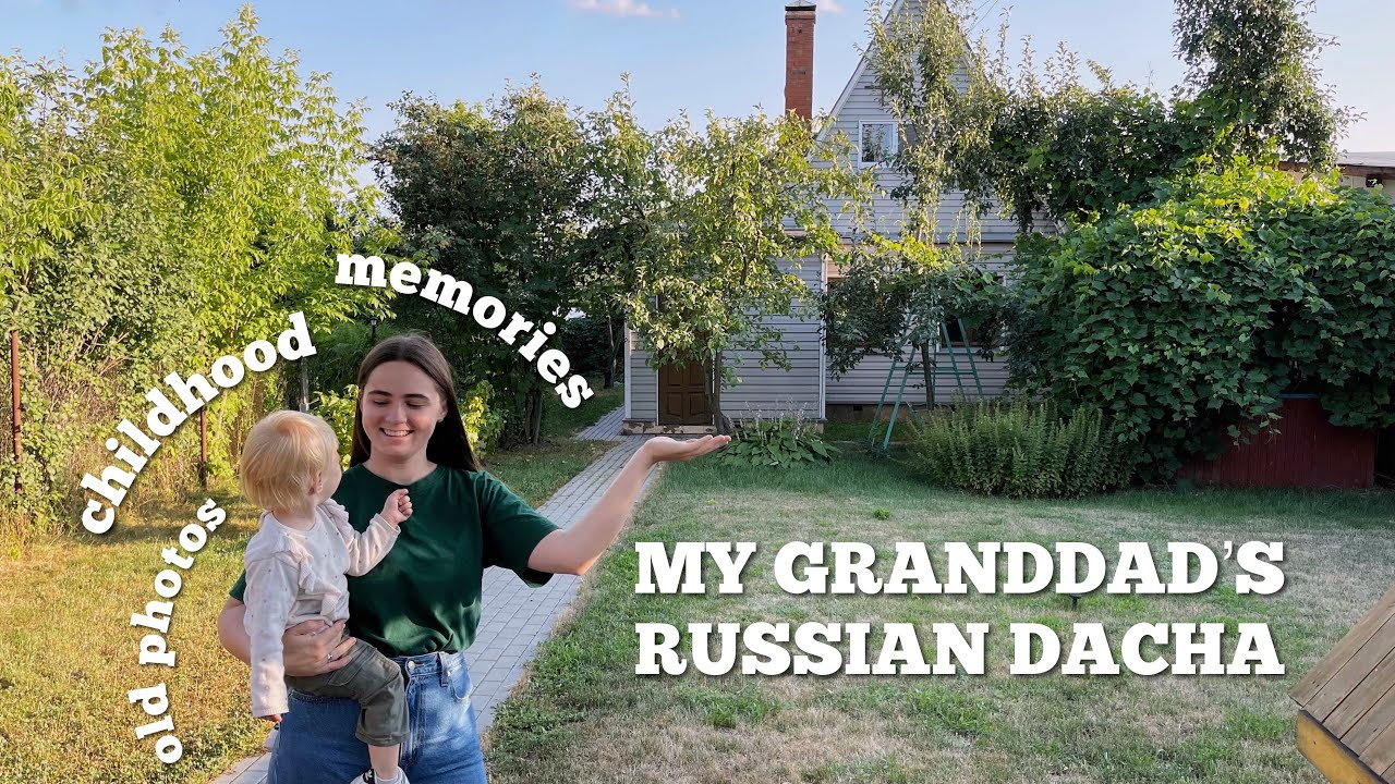My Granddad's Dacha — Russian Small Country House Tour