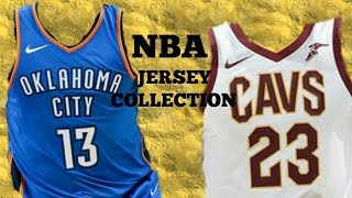 MY NBA JERSEY COLLECTION
