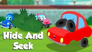 Hide And Seek | Little Red Car | Car Cartoon Videos For Children by Kids Channel