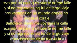BENDICION MAMI letra (mexicano 777)