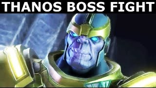 Thanos Boss Fight - Marvel's Guardians Of The Galaxy: The Telltale Series Episode 1 (No Commentary)