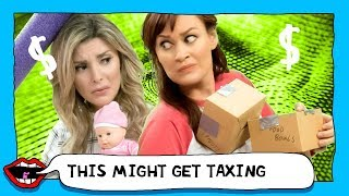 CAUGHT FOR TAX FRAUD with Grace Helbig & Mamrie Hart