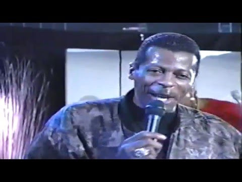 Marla's Memory Lane 1992 _ Ollie Woodson of The Temptations