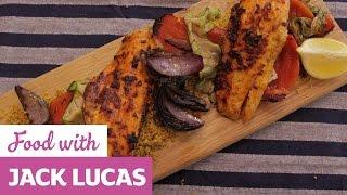 Hot Harissa Sea Bass | Jack Lucas