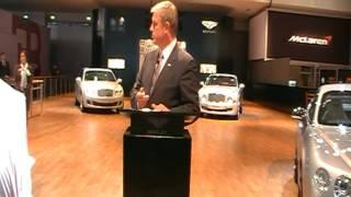 Hasan Kutbi Attending Bentley Stand -Dubai MotorShow 2011
