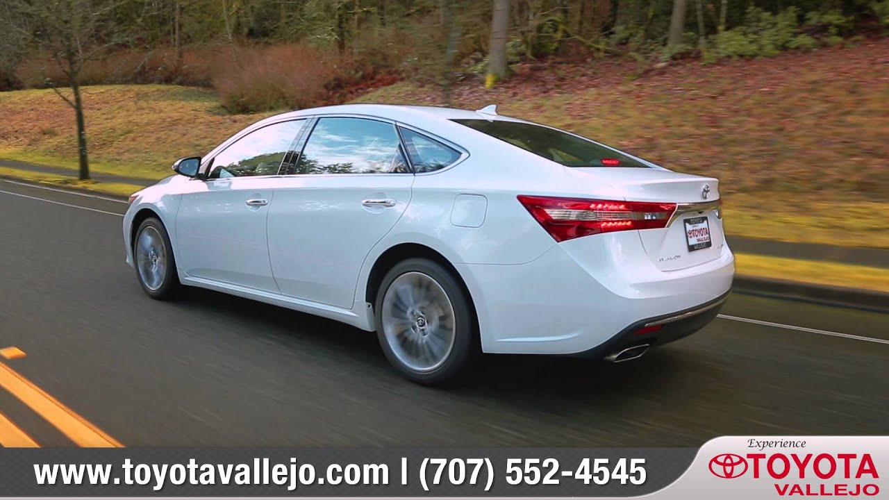 2016 Toyota Avalon Review Of Vallejo Dealer Serving Napa Ca