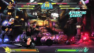 Marvel vs. Capcom 3: Fate of Two Worlds - Storm and C. Viper Gameplay 2