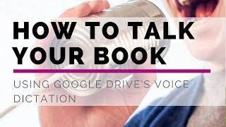 How to Talk Your Book Using Google Drive