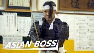 Download Mp3 Meet A Real Samurai  Cuts 240 Mph Bb Gun Pellet  | Everyday Bosses #15