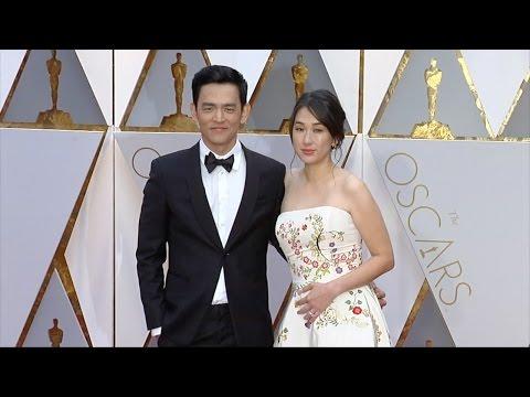 John Cho and Kerri Higuchi 2017 Oscars Red Carpet