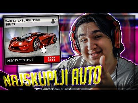 NAJSKUPLJI AUTO U GTA V !!! Grand Theft Auto V - Pegassi Tezeract