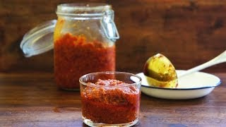 Sambal Paste With Lemongrass