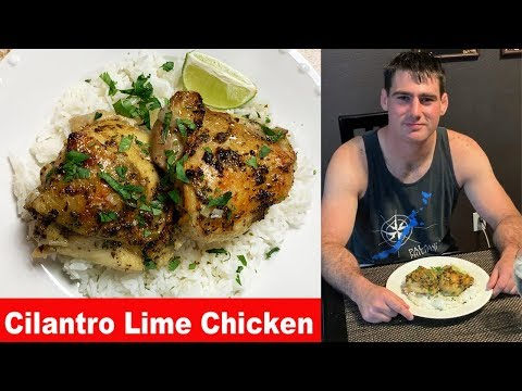 Cilantro Lime Chicken Thighs | What's for dinner?