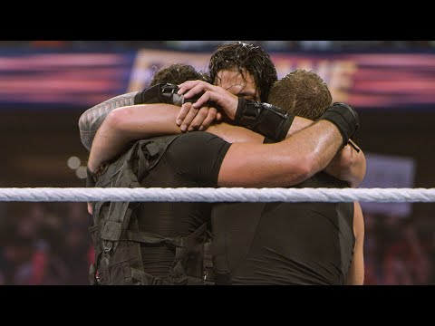 The Shield's emotional goodbye at WWE Fastlane: WWE The Day Of