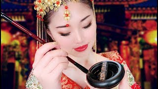 [ASMR] Chinese Princess Paints You ~ Calligraphy Portrait