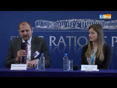 Konferencja prasowa: dr Jan Wiśniewski