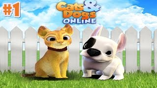 Cat & Dog Online - Simulator By Foxie Games - Android/iOS - Gameplay Episode 1