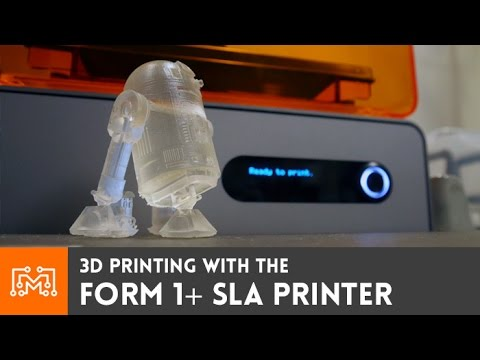 Form 1+ SLA 3d printer // Review - YouTube