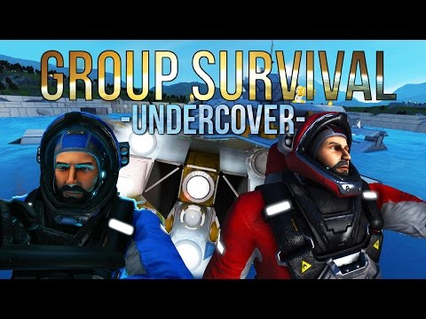 Space Engineers - Undercover -S2 Ep 3- Group Survival
