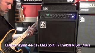 Ampeg BA-110 - Sound Clips