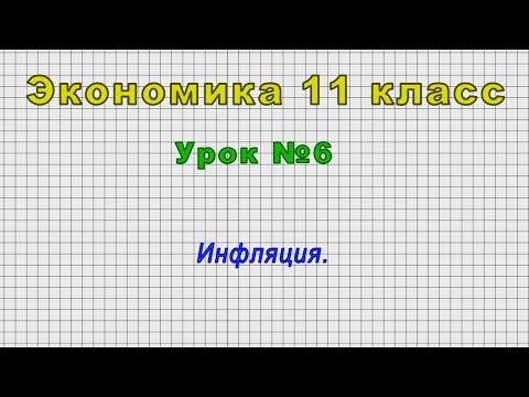 Экономика 11 класс (Урок№6 - Инфляция.)