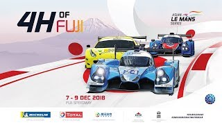 4 Hours of Fuji -LIVE - Round 2 of the 2018/19 Asian Le Mans Series