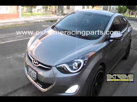 Modificacion Tuning Hyundai Elantra En Extreme Racing
