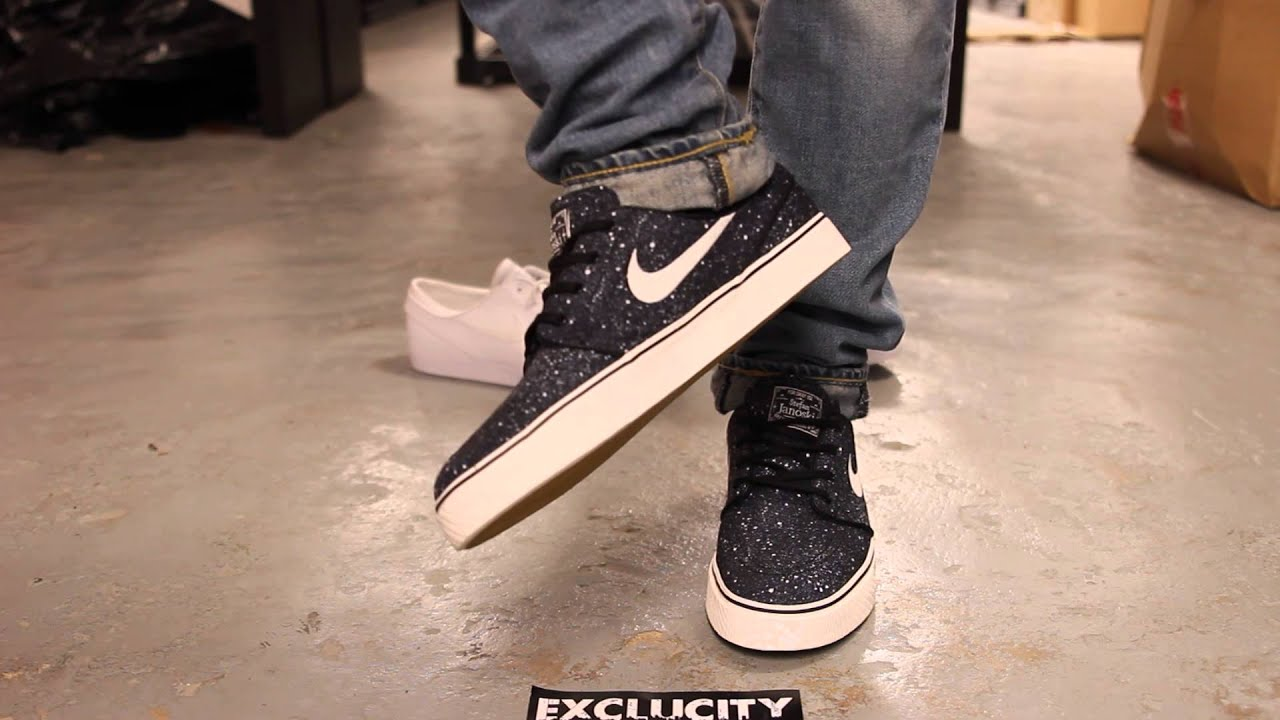 "low priced e720a 40c50 Nike SB Stefan Janoski Premium ""Splatter"" - On Feet Video  Exclucity"