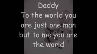 Daddy and Daughters never say goodbye Video