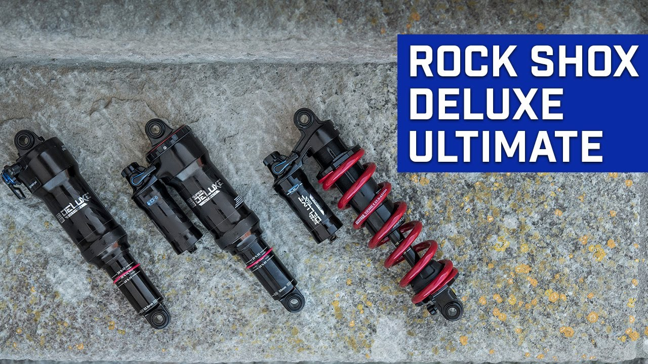 The new Rock Shox Deluxe Ultimate explained