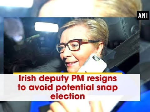 Irish deputy PM resigns to avoid potential snap election - ANI News