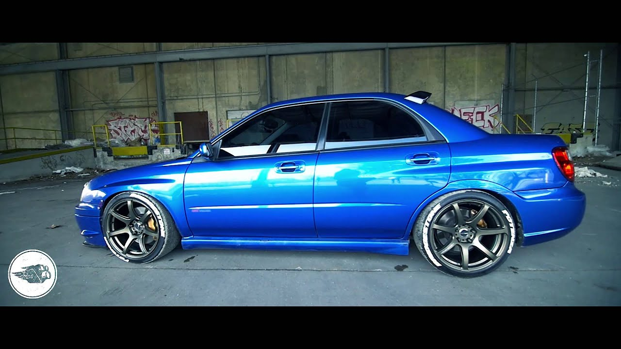 430whp slammed 2005 subaru wrx sti youtube. Black Bedroom Furniture Sets. Home Design Ideas