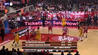 Papanikolaou vs Khimki [21pts - 37rkg] [04/04/2013]