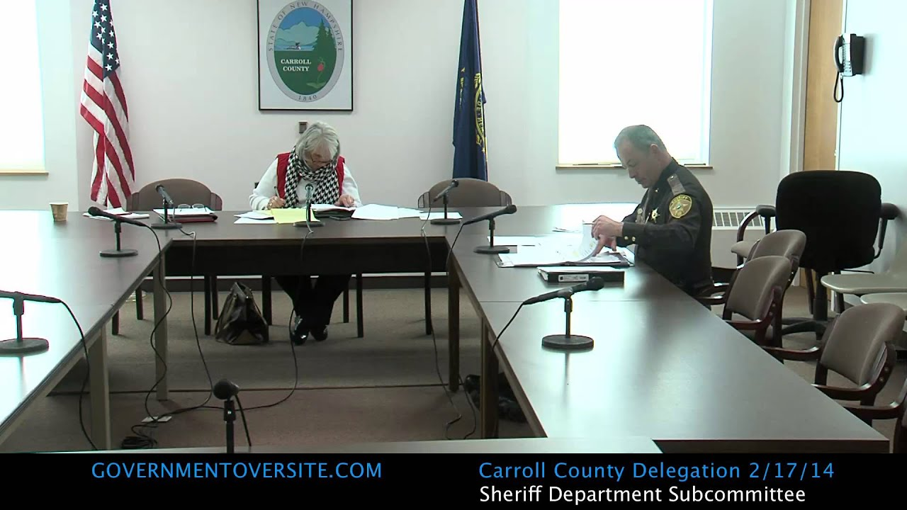 Carroll County Sheriff Subcommittee | Government Oversite