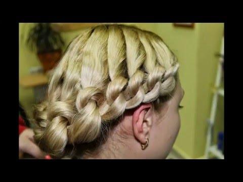 Плетение кос  Узелки. Причёска на скорую руку пригодится и Папам