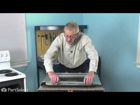 Frigidaire Range Repair - How to Replace the Inner Oven Door Glass