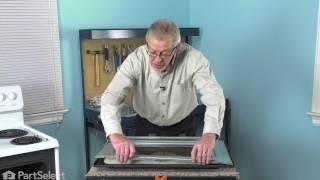 Frigidaire Range Repair - How to Replace the Inner Oven Door Glass