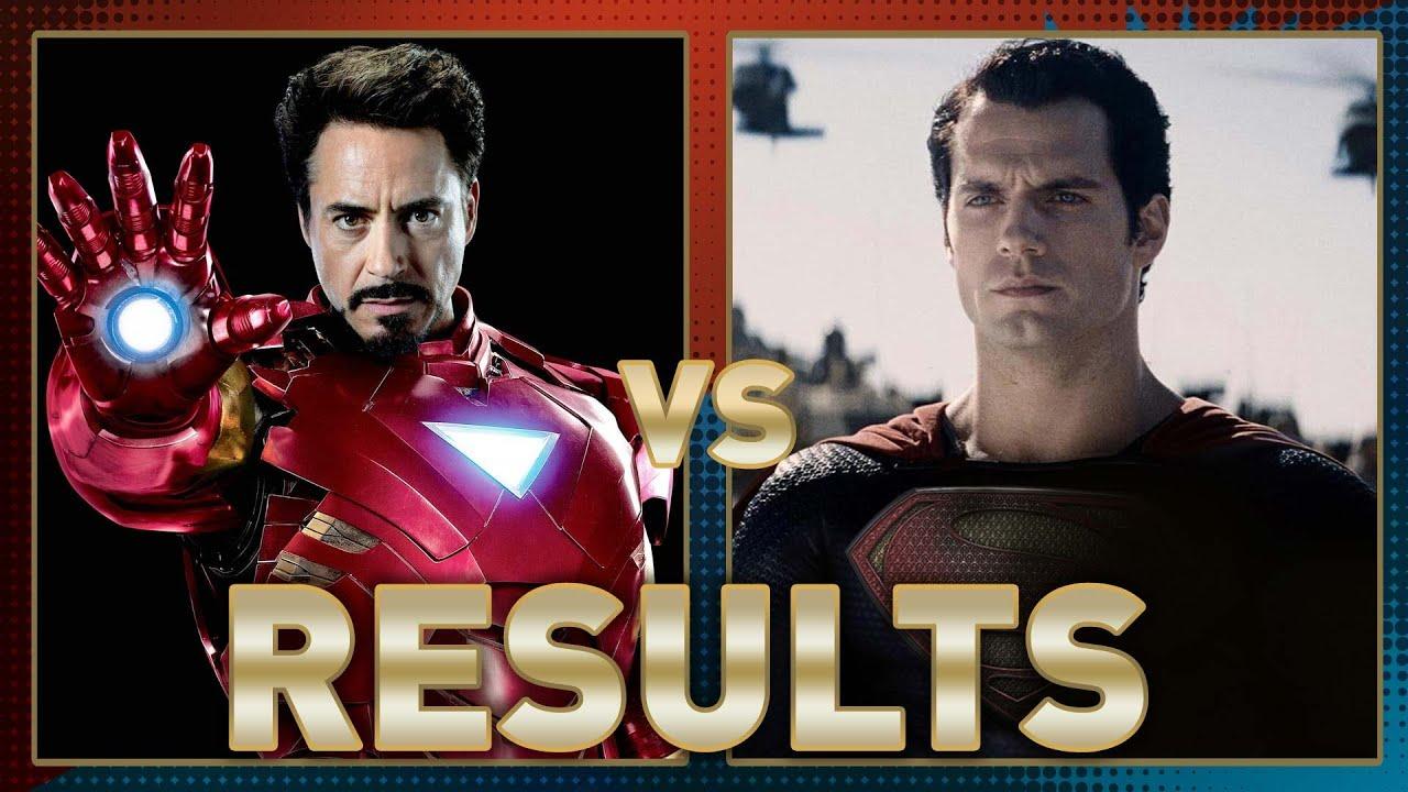 iron man vs superman fanboy faceoff results batman iron man fanboy