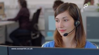 SAXOPRINT TV commercial – Customer service at your online printing company