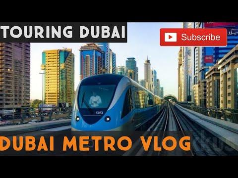 Touring Dubai with Metro || Dubai Metro Vlog #6