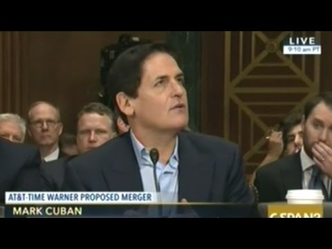 CEOs Of AT&T And Time Warner (Also Mark Cuban) Testify To Congress On Proposed Merger