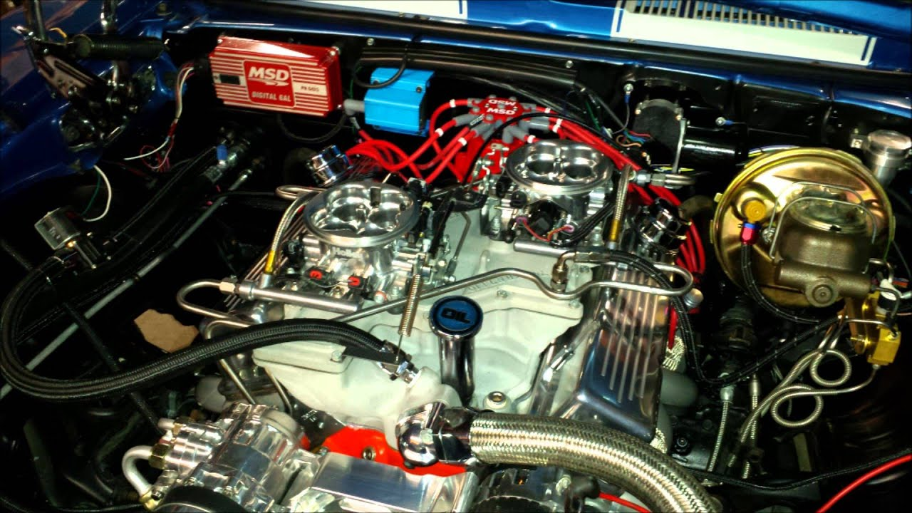 1969 Camaro Ss Lemans Blue Crossram 427 Youtube