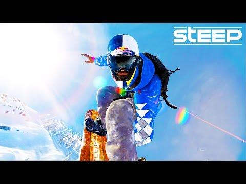 STEEP: EXPLORING THE MOUNTAIN!! - Steep Wingsuit, Skying & Snowboarding - Steep Multiplayer Gameplay