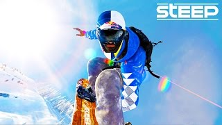 STEEP: EXPLORING THE MOUNTAIN!! - Steep Wingsuit, Skying & Snowboarding - Steep Multiplayer Gameplay
