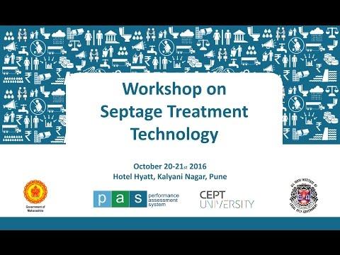 Septage treatment technology workshop- Pune day2 session6